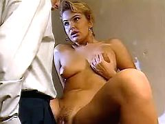 Sexy lady gets fucked by hard dick